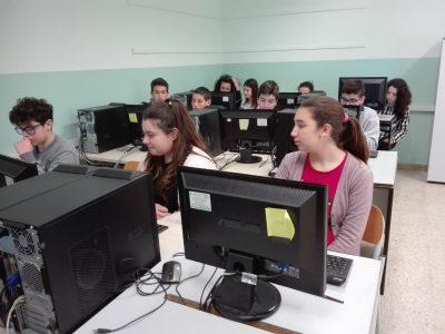 Work in progressione at Scuola Media Pirandello