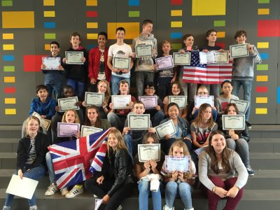 Class B1 @ Montessori Lyceum Rotterdam, The Netherlands