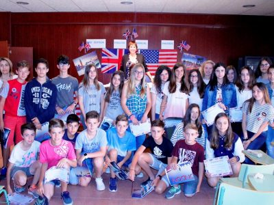 Students from Institut Josep Vallverdú, Les Borges Blanques (Lleida)