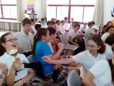 Students having fun at Colegio Internacional SEK Alborán in Spain!