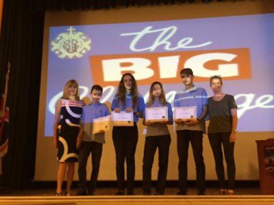 Winners from Sagrada Familia School, Spain. Congratulations!