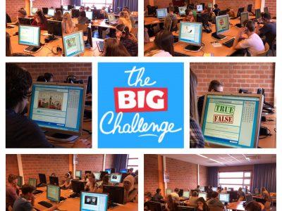 Maar liefst 113 leerlingen van de RGO Middelharnis hebben vandaag deelgenomen aan The Big Challenge!