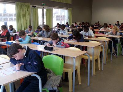 Work in progress... ;-) les 6èmes du Collège Saint-Charles de GUIPAVAS (29)