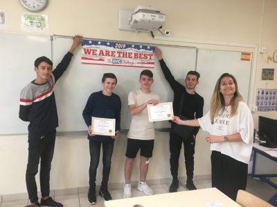 Bravo aux 2ndes MEI de Mme Grondin au Lycée Jeanne d'Arc de Saint medard de guizieres en Nouvelle Aquitaine !!!