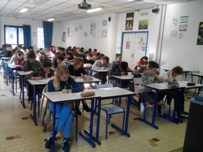 Collège Roland Garros 06000 Nice  As focused and determined as ever!