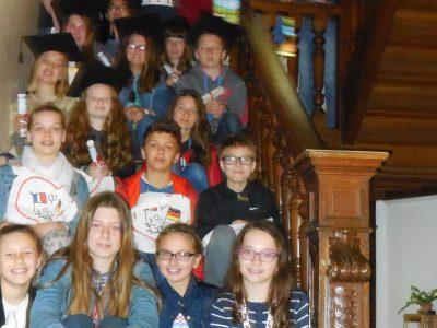 Les élèves les mieux classés du Collège Saint Luc Jeanne d'Arc à Cambrai