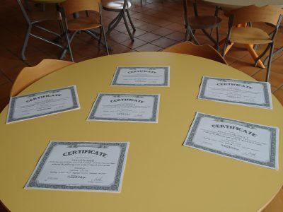 Awards Ceremony - Lycée Professionnel de la Coudulière.