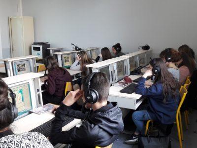 Lycée Carcado Saisseval (Paris) le jour du concours - Concentration maximale !