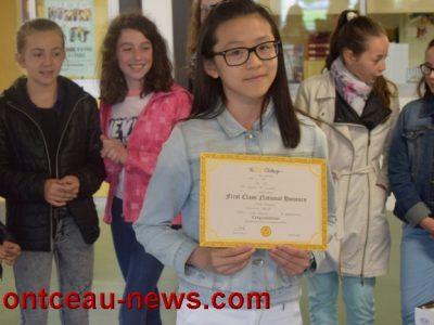 Collège St Gilbert, Montceau-les-Mines De fort beaux prix et de brillants lauréats