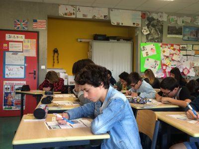 We love English! @ Collège Manon Cormier, Bassens, 33530.