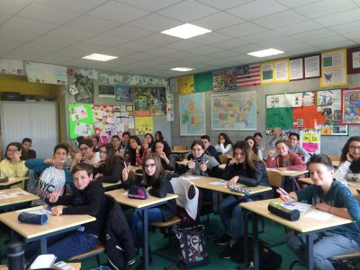 #English is so much fun with Big Challenge! # Collège Manon Cormnier, Bassens, 33530.