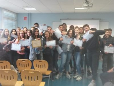 Well done to all our participants ! Besancon - Collège Stendhal