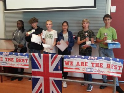 Zuyderzee Lyceum, Junior Emmeloord. Proud winners of level 1 and 2, including two regional winners! We are so proud!