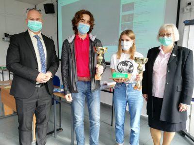 Liceum Francuskie w Warszawie Dwoje laureatów , Maia i Toma, 2. miejsce w Polsce ex-aequo ! Jesteśmy dumni z naszych uczniów !