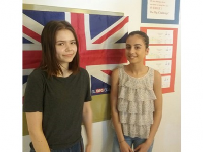 Täby Friskola, Täby, Sweden won the contest in level 3 and 5!  We proudly present our two winners, top student in level 3 - Lana Bawil and in level 5 - Stina Fredriksson. This is the 4th year we participate and our students have been successful each year. We will soon have a prize ceremony for all our students.