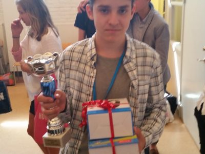 Congratulations Kasper Saldell from Futuraskolan Bergtorp in Stockholm, for winning the school prize, the 1st regional prize and the 2nd national prize of Sweden!